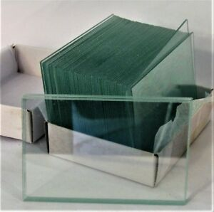Large Blank Microscope Slides 50 X 75 Mm 2 X 3 Clear Plain Glass Plate New