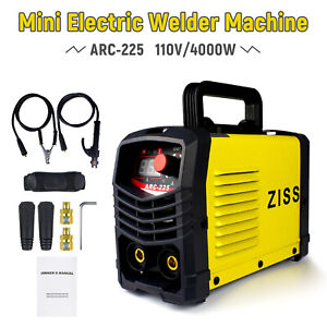 110v 225a Mini Electric Welding Machine Igbt Inverter Arc Mma Stick Welder Weld