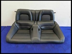 2015 2017 Ford Mustang Gt Ecoboost Rear Leather Seats Coupe Oem