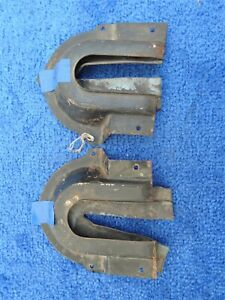 1961 1963 Ford Thunderbird Convertible Top Arm Seals C1sb 76465a10 W Retainer