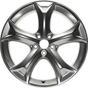 Refenished Hypersilver 20x7 5 Wheel Rim For 2009 2015 Toyota Venza 20 Inch