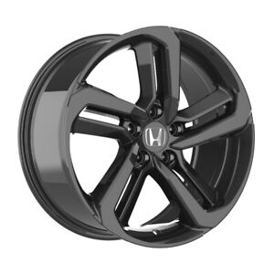 19 Inch Gloss Black Rims Fits Honda Civic Si Hatchback 2004 2005 4 Wheels