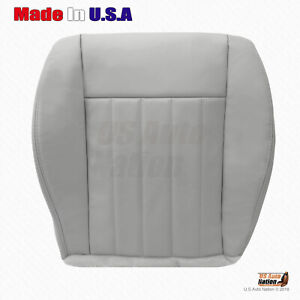 2005 2006 2007 Jeep Liberty Front Passenger Side Bottom Leather Seat Cover Gray