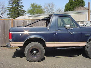 Full Size Bronco Chevy Blazer 4 Point Roll Bar Cage Ford Jimmy