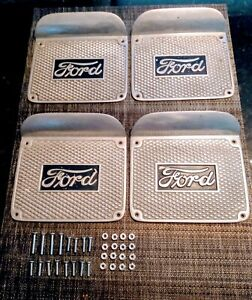Ford Model A Running Board Step Plates