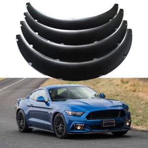 4x 3 5 90mm Car Fender Flares Jdm Wide Body Wheel Arch For Ford Mustang Gt Gts
