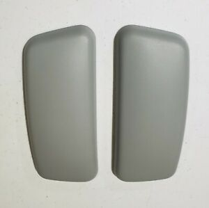 Brand New Arm Pads Caps Replacement For Haworth Zody Office Gray Free Shipping