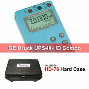 Ge Druck Ups iii hd Ma And Voltage Calibrator With Hard Case