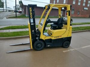 2012 Hyster S50ft 5000lb Cushion Forklift Lpg Lift Truck 3 Stage Mast
