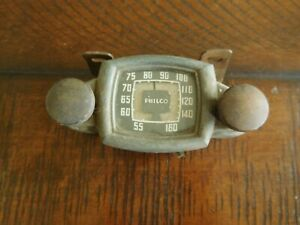 1934 1935 1936 1937 Philco Transitone Radio Head Universal