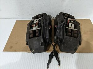 2004 10 Touareg Cayenne Q7 Brembo 17z Front Pair Brake Calipers