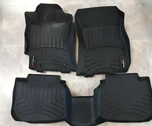 Weather Tech Floor Mats Subaru Legacy Or Outback 2015 19 1st And 2nd Row Used