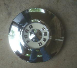 1 1955 56 Ford Good Used Dog Dish Hubcap
