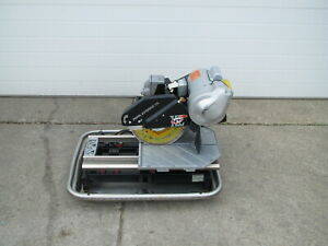 Pearl Abrasive Vx10 2xlpro 10 Professional Tile Wet Saw Kit Used Free Shipping