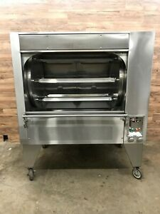Wood Stone Ws gfr 6 ng Rotisserie Oven Gas 120v ph1 W Hood And Exhaust Fan