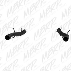 Mbrp 2011 2014 For Ford Mustang Gt 3in Dual Axle Back Muffler Delete Black S
