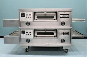 Middleby Marshall Pizza conveyor Oven Double Gas Ps555g With Split Belt