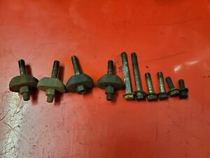 60 S Ford Y Block 256 272 292 312 Intake Manifold Clamps Bolts