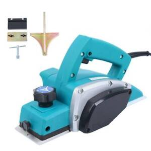 Ridgeyard Electric Wood Planer Hand Held Woodworking Furniture Power Tool Hot