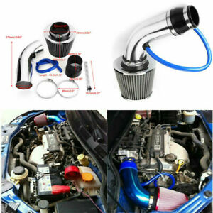 Car Cold Air Intake Filter Induction Set Pipe Power Flow Hose System Accessories