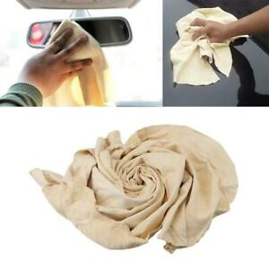 Natural Chamois Leather Car Cleaning Cloth Washing Absorbent drying towel V2z9