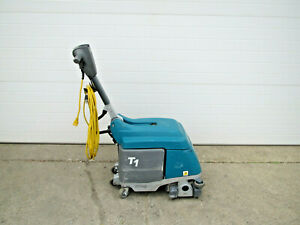 Tennant T1 120v Corded Walk Behind Micro Scrubber 135 6 Hours Works Great