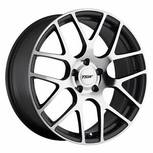18 Inch 5x4 72 Wheel Rim 18x9 5 40mm Gray Tsw Nurburgring
