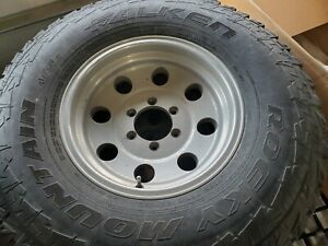 Set Of 4 6 Lug Chevy Tires And Rims