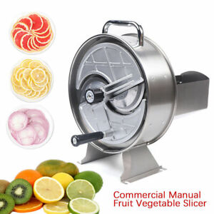 10 Inches Aluminum Alloy Commercial Manual Fruit And Vegetable Chopper Slicer Us
