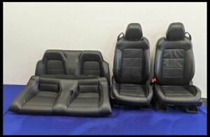 2018 2021 Ford Mustang Gt Seat Set Bucket Convertible Leather