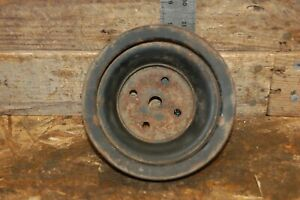 Chevy 3 Groove Water Pump Pulley Gm 14037740 2