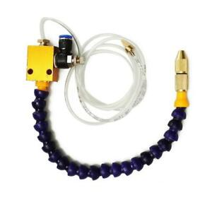 Mist Coolant Lubrication System Spray For 8mm Air Lathe Pipe Milling K3y2