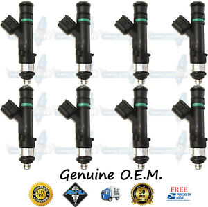 Genuine Bosch Upgrade Ford 8x Fuel Injectors 0280158174 5 4 Expedition Navigator