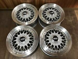 Genuine 15 Bbs Rs 043 5 114 3 6 5 15 Et 36 3 Piece Forged Wheels