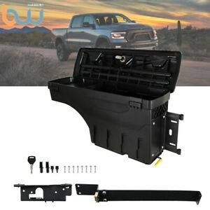 Truck Wheel Well Storage Tool Box W lock Right For 02 18dodge Ram 1500 2500 3500