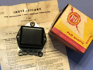 P d 48 49 50 51 52 Ford Tractor 6v Voltage Regulator Replaces 8n 10505c Us Made