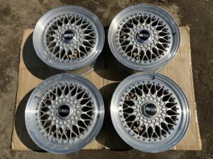 Genuine 17 Bbs Rs 264 7x17 Et45 Square Set 5 114 3 3 Piece Forged Wheels