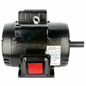 7 5hp Air Compressor Electric Motor Single Phase 2 Pole 3450 Rpm 184t Frame Odp