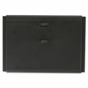 At a glance Desk Calendar Base 19 Style Black Holds 3 X 3 3 4 Pages