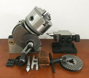 Bs 0 Dividing Head Plates Milling Set Tail Head Stock 5 Inch