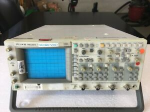 As Is Fluke Pm3392a 4ch Digital For Parts Or Repair Not Tested No Power On