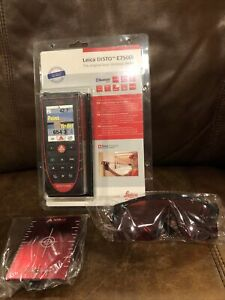 Leica Disto E7500i Laser Distance Meter With Bluetooth New W Glasses And Target