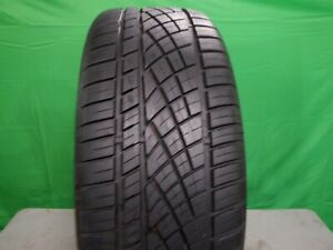 Single Used 265 40zr22 Continental Extreme Contact Dws06 106w 9 32 Dot 0620