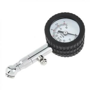 Yd 6025 Air Tire Pressure Gauge High Accuracy Mechanical Up To 60 Psi Dial Meter