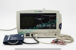 Welch Allyn 6200 Series Atlas Vital Signs Patient Monitor W Accessories