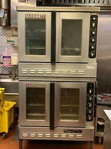 Blodgett Gas Double Bakery Commercial Oven Bakery Pizza Selling Cheap