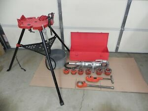 Ridgid 700 Power Threader 115v 12r Set 1 2 2 case Oiler Rigid Complete