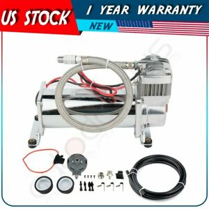 Durable 200 Psi Air Compressor 1 4 Hose Kit For Train Truck Boat Horns
