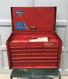 Vintage Snap On Tools Tool Box Top Kra 59b Made In Usa 72 Or 76 Bicentennial