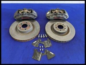 2015 2021 Ford Mustang Pp1 Performance Pack Brembo Brakes Caliper Front Rotors